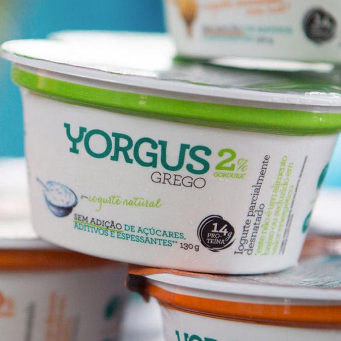 Yorgus, o iogurte grego de verdade